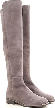 Boots for Women, Booties On Sale, Beaver Brown, suede, 2017, US 9.5 (EU 40) Stuart Weitzman