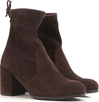 Boots for Women, Booties On Sale, navy, suede, 2017, US 4.5 ( EU 35) US 5 (EU 35.5) US 7 (EU 37.5) Stuart Weitzman