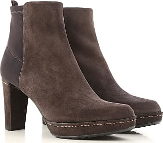 Womens Shoes On Sale in Outlet, Dark Mud, Suede leather, 2017, US 7.5 (EU 38) Stuart Weitzman