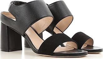 Sandals for Women On Sale, Cyclamen, Fabric, 2017, 3.5 5.5 Stuart Weitzman