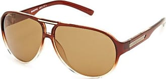 Sunoptic Lunettes Pilote Homme - Marron - Brown/Clear Brown - FR : Taille unique (Taille fabricant : One Size) 849X8V9czk