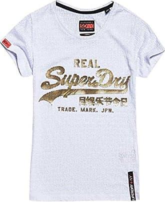 Reworkedclassictee, Camiseta para Hombre, Azul (Classic Blue Bye), XX-Large (Talla del Fabricante: 2XL) Superdry