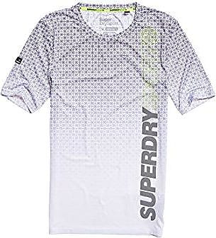 Superdry Real Originl Paint Slim BF tee, Camiseta para Mujer, Blanco (Riff White OO3), Small