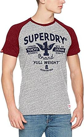 M10003FQ, Camiseta para Hombre, Gris (Frontier Grey NH2), XX-Large Superdry