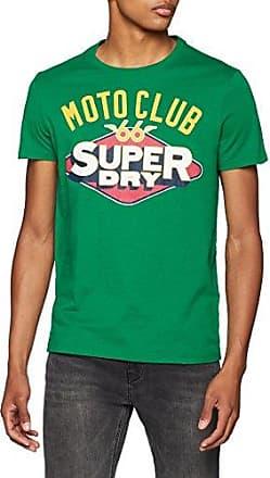 Legiontee, Camiseta para Hombre, Verde (Outback Green Xos), X-Large Superdry