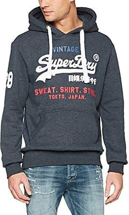 Superdry COMBAT SPORT - Sweat à capuche - navy 2TkW8ukT