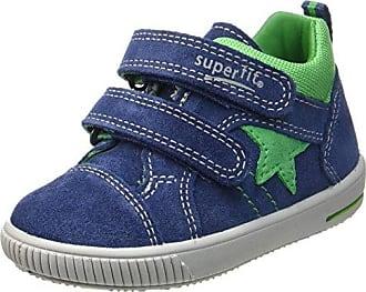 Superfit Bill 808271, Chaussures Bébé Marche Bébé Garçon - Bleu - Blau (Ocean Multi),