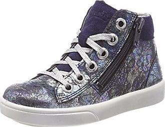 Superfit Marley, Zapatillas para Niñas, Blau (Water Kombi), 34 EU