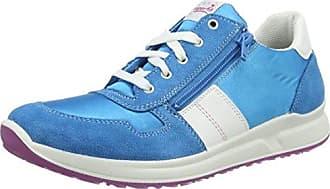 Superfit SPORT4, Sneakers basses fille - Bleu - Blau (TÜRKIS 90), 26 EU