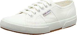 Superga 2750 Cotcotmetw, Zapatillas para Mujer, Blanco (White Silver C39), 37.5 EU
