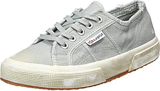 Unisex Adults 2750 Cotustonewash Trainers, Grey (Lt. Grey) Superga