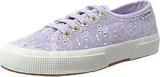 Superga 2750 Sangallqsatinw, Chaussures Femme, Violet (violette Lilas 520), 35 Eu