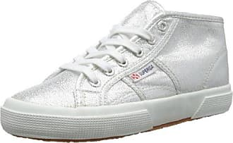 Superga Damen 2754 Lamew High-Top, Silber (031), 37.5 EU