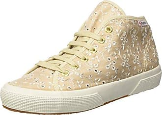 Womens 2754-sangallosatinw Salut-top Formateurs, Aigue-marine, 2,5 Superga