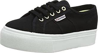 Superga S00AXP0, Chaussures Basses FemmeNoirNoir (Full Black A09), 37 EU EU