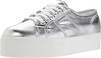 Superga 2790 COTMETW, Damen Sneakers, Silber (Silver), 41.5 EU