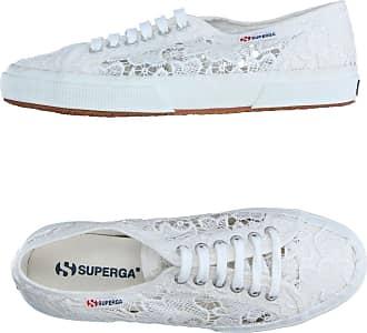 Superga 2843 Chaussures Baskets Comfleau Lo Blanc Blanc Y5N67UY