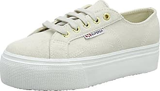 Superga 2386 Suefglm, Zapatillas Adultos Unisex, Blanco (White Cream N20), 40 EU