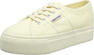 Superga 2790 Acotw Linea Up and Down, Zapatillas para Mujer, Beige (Ecru 912), 41 EU
