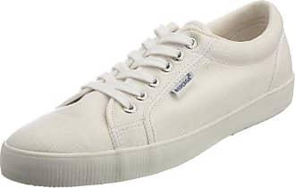 S0001R0 - Zapatillas de deporte de algodón para mujer, color Azul (Marineblau), talla 44 (9.5 UK) Superga