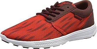 Supra Hammer Run - Zapatillas Unisex Adulto, Color Rojo - Rot (Red/Burgundy - White rbu), Talla 36