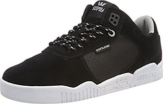 Stacks II, Sneakers Basses Homme, Noir (Black/Grey-White), 40 EUSupra