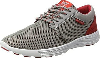 SupraHammer Run - Low-Top Uomo, Rosso (Rot (Brick Red-White)), 42