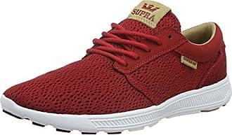 Supra Hammer Run - Zapatillas Unisex Adulto, Color Rojo - Rot (Red/Burgundy - White rbu), Talla 36