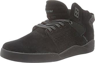 08054 - Ineto, Sneaker a Collo Basso Uomo, Nero, 44 Supra