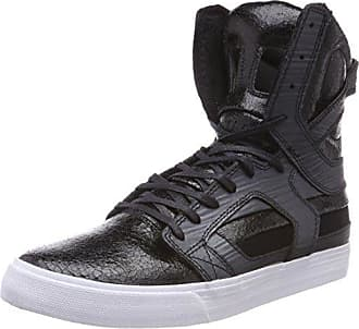 Ellington, Sneakers Basses Homme, Noir - Schwarz (Black - White 002), 42 EUSupra