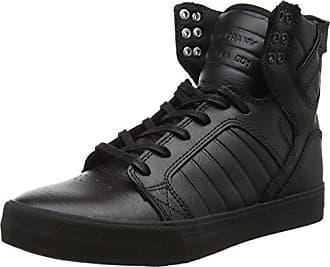 Skytop, Baskets Hauts Hommes, Noir (Black/Croc White), 36 EUSupra