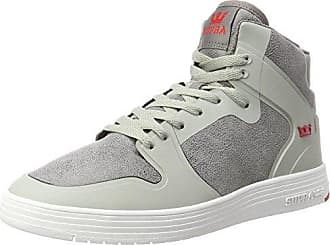 Vaider CW, Sneakers Basses Homme, Gris (Charcoal/White), 42.5 EUSupra