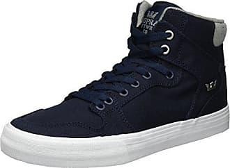 Sneakers blu navy per unisex Supra BlwHbSPLJ