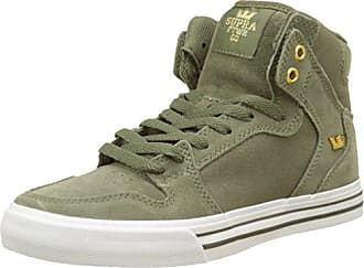 Supra Shoes, Vert Olive, Taille 42