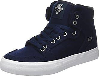 Supra Vaider, Zapatillas para Hombre, Azul (Navy-White), 39 EU