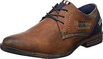 4810202, Zapatos de Cordones Brogue para Hombre, Schwarz (Black-Royal-Lime), 41 EU Supremo