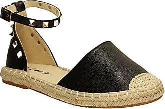 SwankySwans , Damen Sandalen braun braun, schwarz - schwarz - Größe: 40