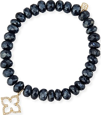 Sydney Evan Prehnite Bead Bracelet w/ 14k Diamond Wire Charm jsI46fD9A2