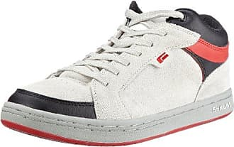 S3000 51102070, Unisex - Erwachsene Sneaker Schuhe, grau, (white/red/black), EU 39 1/2 (US 7) Sykum