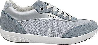 Montecarlo, Sneakers Wildleder und Mesh, Damen Grau 37 T-Shoes