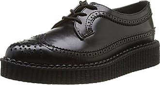 Anarchic Shoes T1002_Noir (Brogue Black) - Zapatos de cuero para mujer, color negro, talla 36 T.U.K.