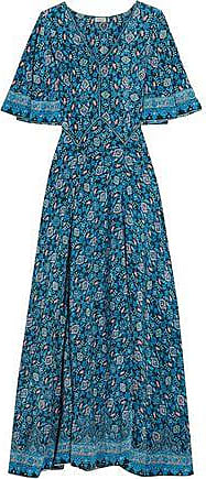 Browse Sale Online Cheap Sale Extremely Talitha Woman Printed Silk Crepe De Chine Maxi Dress Navy Size XS Talitha 2018 Unisex Sale Online t6CEzE