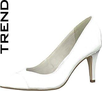 Tamaris Woms Court Shoe Größe 40 Weiß (White) pPaP5gx