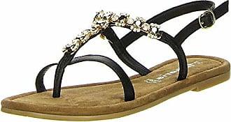 Tamaris 1-28110-28 Damen Zehentrenner Sandaletten Sandalen, Schuhgröße:41;Farbe:Weiß