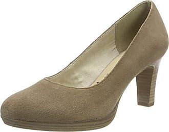 Tamaris 22470, Zapatos de Tacón para Mujer, Marrón (Cognac Snake), 37 EU
