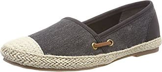 Tamaris Damen 24608 Espadrilles, Schwarz (Black Canvas), 36 EU