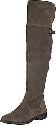SHOWHOW Damen Overknee Langschaft Stiefel Biker Boots Schwarz 42 EU nNawjd