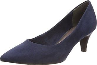 Tamaris 22439, Zapatos de Tacón para Mujer, Azul (Navy Structure 855), 40 EU