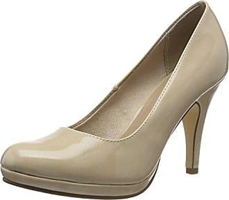 Tamaris 22430, Escarpins Femme, Beige (Cream Patent 452), 41 EU