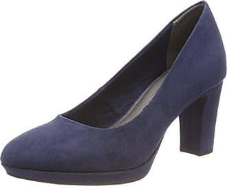 22420, Escarpins Femme, Bleu (Denim 802), 36 EUTamaris